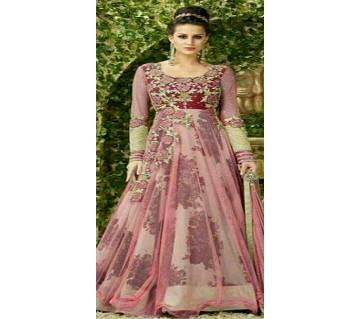 Unstitched Embroidery Georgette Gown (Copy)
