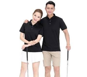 Couple Polo  T-Shirt for Men & Women(Valentines Offer)