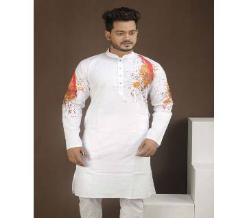 Gents Cotton Semi-long Panjabi