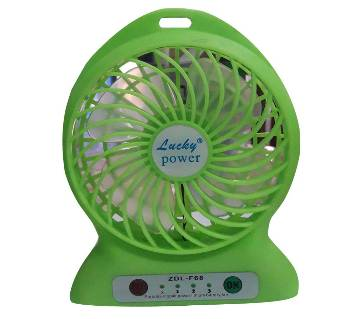 USB Portable Lithium Battery Fan