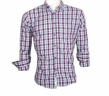 Mens Casual Full Sleeve Shirt