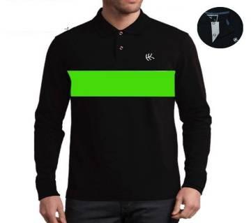 Gents Full Sleeve Polo Shirt