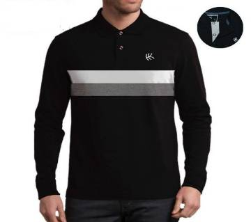 Gents Full Sleeve Polo Shirt