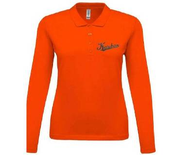 Ladies Full Sleeve Polo Shirt