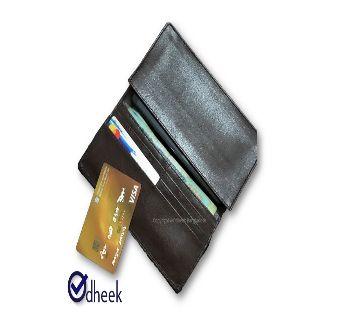 Long Wallet Cum Mobile Cover for Men Women Color Chocolate