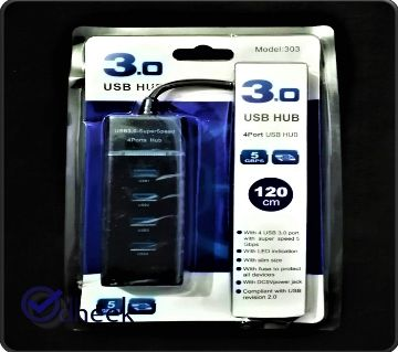USB Hub 3.0 4PORT High Speed 5GBPS