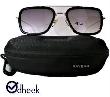 Fshionable Metal Frame Men Sunglass Lens Black