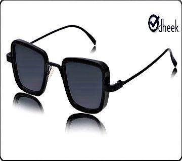 Kabir Singh SunGlass Full Black with Travel Pouch
