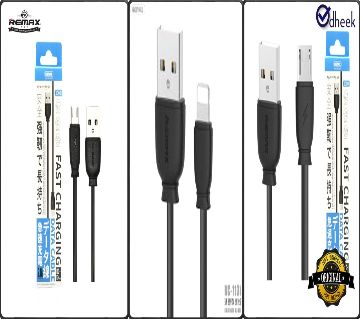 Remax USB Data Cable RC134 Authenticate Product -Type C