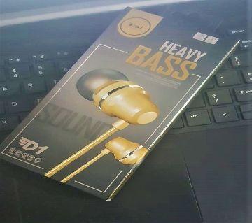 D1 Heavy Bass Stereo Headphone