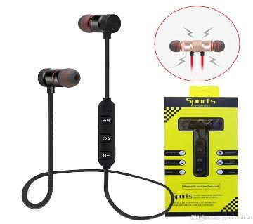 Bluetooth Earphone Magnetic attraction Headphone waterproof Sports