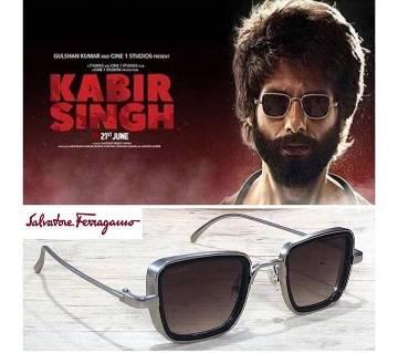 Kabir Singh Sun Glass Silver Original Metal Frame