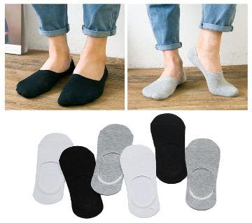 Loafer SOCKS 3 Pair 3 Color  Premium Quality Brand Graded Ankle Socks For Men Casual Sock Formal Sock
