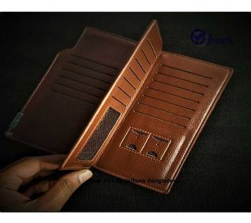 MenBense Original Wallet for Men Women Color Light Brown