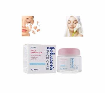 Johnsons Face Care Cream 50ml UK