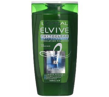 LOreal Paris Elvive Phytoclear Anti-Dandruff Regulating Shampoo 400ml - UK