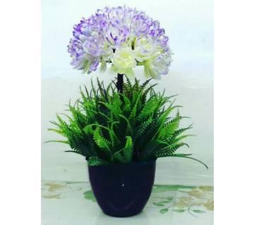 Artificial flower plants