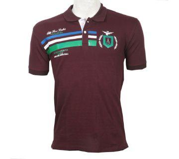 Half Sleeve Cotton Polo T Shirt For Men