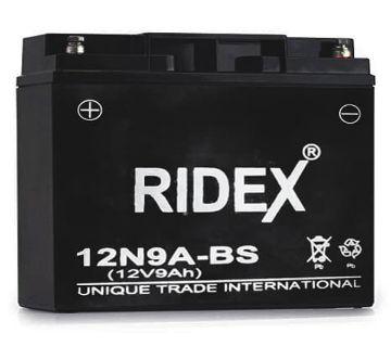 RIDEX Long lasting Motorcycle Battery-12V-9AH