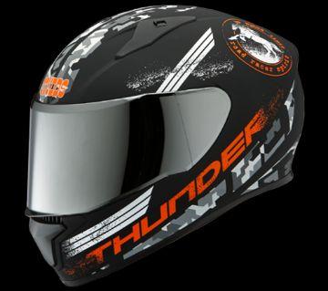 Studds Thunder D2 Decor Helmet-Orange