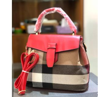 Wearza Check Causel Bag