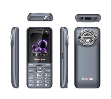 "Western D-4 - Feature Phone - 2.4"" - 32MB RAM - 32 MB ROM - Grey"