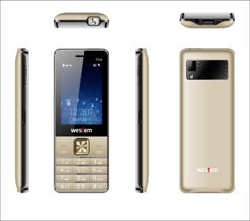 "Western D-37 - Feature Phone - 2.8"" - 32MB RAM - 32 MB ROM - Gold"