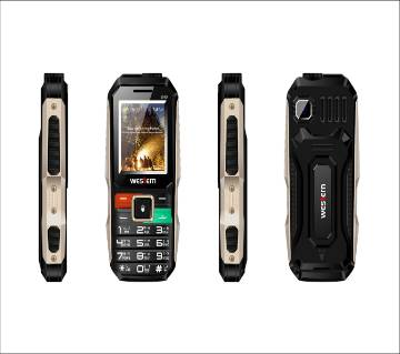 "Western D-40 - Feature Phone - 1.8"" - 32MB RAM - 32MB ROM - Black"