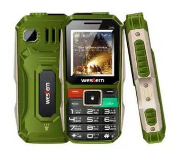 "Western D-40 - Feature Phone - 1.8"" - 32MB RAM - 32 MB ROM - Green"