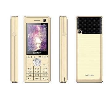 "Western D-11 - Feature Phone - 2.4"" - 32MB RAM - 32 MB ROM - Gold"