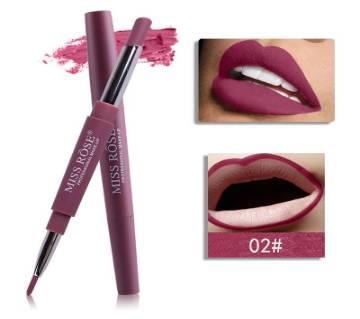 Miss Rose Double head 2-in-1 Lipstick Pen Lip Liner