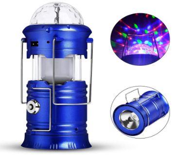 LED ম্যাজিক কুল ক্যাম্পিং লাইট for hotel, Solar Panel, school, hospital, exhibition hall, entertainment use
