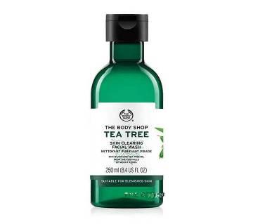 Tea tree face wash 250ml - UK