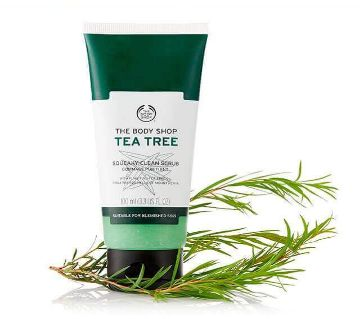 Tea tree Face wash scrub 100ml - UK