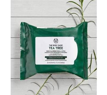 Tea Tree Facial wipes- UK