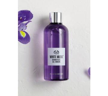 White musk Shower gel 250ML - UK