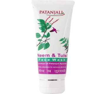 Patanjali Neem And Tulsi Face Wash Indian