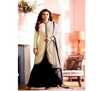 un-stitched koti style embroidery party suit - Copy nitya-97006