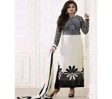 Unstitched Cotton Block Printed Salwar Kameez  seblock-301