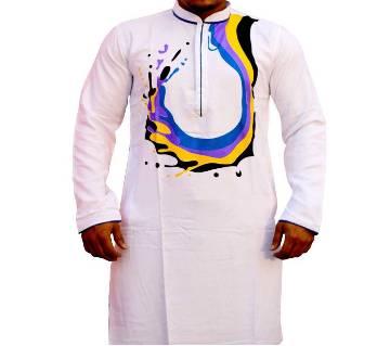 Boisakhi Cinigura Cotton Punjabi for man BASE_4