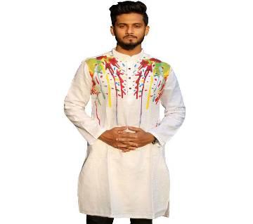 Boisakhi Diamond cotton Punjabi for man BASE_5