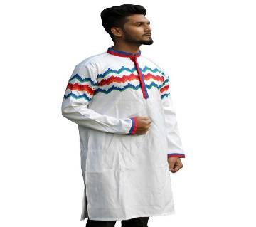 Boisakhi Salab Cotton Punjabi for man BASE_9