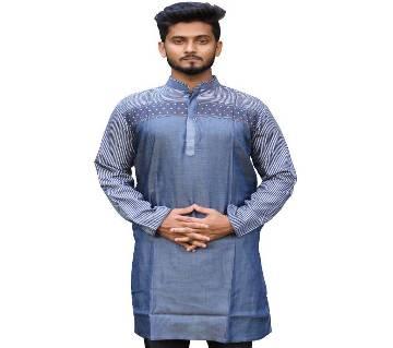Boisakhi Denim Punjabi for man BASE_14