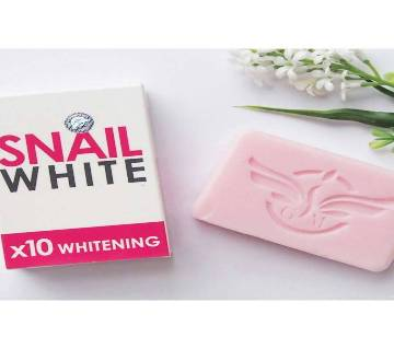 SNAIL WHITE X10 হোয়াইটেনিং সোপ - 70 gm - Thailand