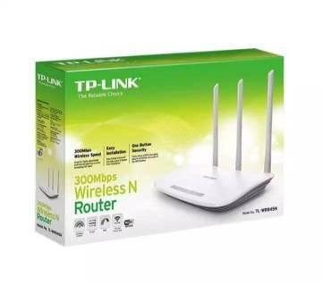 TL-WR845N 300Mbps ওয়্যারলেস রাউটার -সাদা