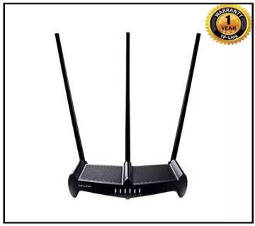 TP-Link TL-WR941HP 450Mbps High Power Wireless N রাউটার- ব্ল্যাক