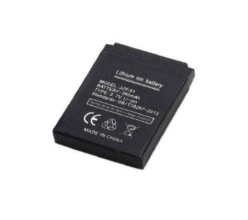 Original Rechargeable Smart Watch Li-ion Polymer Battery 380mAh 3.7V -Black