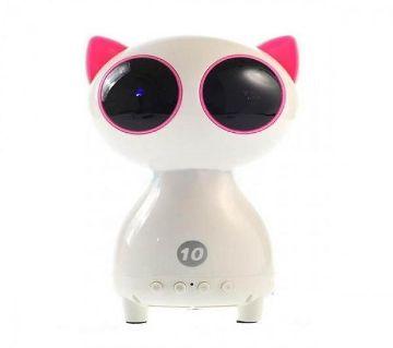 Black Cat Q9 ব্লুটুথ টেক স্পিকার উইথ LED লাইট