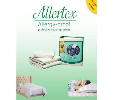 Allertex-1 Bed Sheet 2 Pillow Cases)