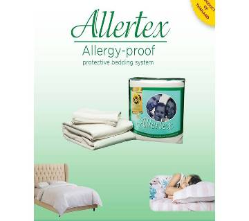 Allertex 1 Bed Sheet 2 Pillow Cases)